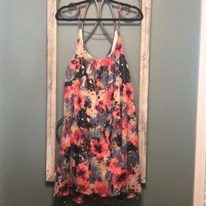 Floral Watercolor Dress